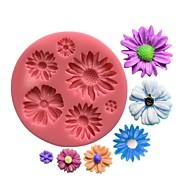1 Leivonta Ympäristöystävällinen / Tulokas / kakku koristelu / 3D / Korkealaatuinen Kakku Muovi Leivontavuoat