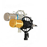 Profesionální kondenzátorový mikrofon mic studio nahrávací dynamický záznam bm800