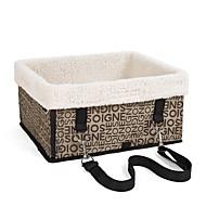 Σκύλος Αντικείμενα μεταφοράς & Σακίδια ταξιδίου πλάτης Κατοικίδια Καλάθια Φορητό Μαύρο / Καφέ / Ασημί / Μπεζ Τερυλίνη