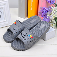 Unisex Slippers & Flip-Flops Spring Summer Fall Winter Comfort PVC Casual Flat Heel Others Black Pink Others