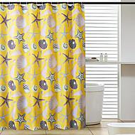 Moderní Polyester 80*180cm ( L x W )  -  Vysoká kvalita Koupelnové závěsy