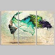 Stravagante / Musica / Patriotico / Moderno / Romantico / Fantasia / Tempo libero / Fotografia Print Canvas Tre PannelliPronto da