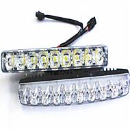 מכונת הספק גבוה הובילה היום אורות פועל אורות עמידים למים קטנים צלצלו 9 נורות LED פנסי אורות בשעות היום