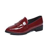 Dame-Lær-Flat hæl-Komfort-一脚蹬鞋、懒人鞋-Fritid-
