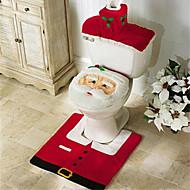 חג שמח ו חג מולד מתנה טובה שנה טובה ומבורכת& שטיח אמבטית מושב אסלה קישוט חג המולד