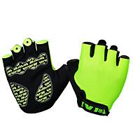 Handschuhe Fahhrad Atmungsaktiv Unisex Grün Baumwolle