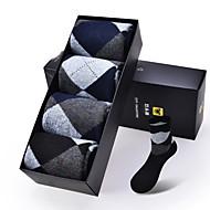 DOUBLE LIONS® Herren Baumwolle Socken 4 / box-MM0630