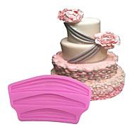 1 אֲפִיָה לא דביק / ידידותי לסביבה / עשה-זאת-בעצמך / כלי אפייה / 3D / איכות גבוהה לחם / Cake / עוגיה / Cupcake / פאי / פיצה / שוקולד / קרח