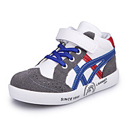 Boy's Sneakers Spring / Fall / Winter Comfort Leather / Suede Outdoor / Casual Low Heel Hook & Loop / Black / Red