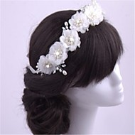 Women's Imitation Pearl / Chiffon Headpiece-Wedding / Special Occasion Headbands 1 Piece
