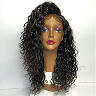 8A Full Lace Human Hair Wigs For Women 130% Density Brazilian Kinky Curly Human Hair Wig With Baby Hair