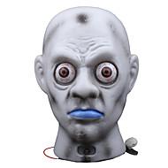 1pc Cadılar Bayramı korkutucu hayalet kafa lamba dekorasyon çubuğu ışık hayalet korku perili ev sahne giyinmek