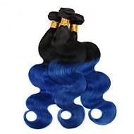 4 Stück Große Wellen Menschliches Haar Webarten Malaysisches Haar Menschliches Haar Webarten Große Wellen