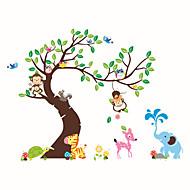 Animais / Botânico / Moda Wall Stickers Autocolantes de Aviões para Parede Autocolantes de Parede Decorativos / Autocolantes de Medição,
