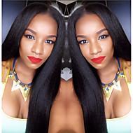 Světlo yaki 8a brazilský virgin lidský vlas paruky volná část krajka přední Lidské vlasy paruky s dítětem vlasy