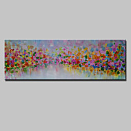 Hand Painted Abstract Oil Painting On Canvas Modern Wall Art Pictures For Home Decoration With Stretched Framed