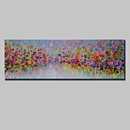 Ručně malované Abstraktní / Abstraktní krajinka olejomalby,Moderní Jeden panel Plátno Hang-malované olejomalba For Home dekorace