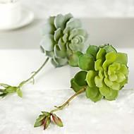 1 Branch Succulents Micro Landscape Simulation Flowers Artificial Plants 1pc/set