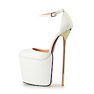 Women's Shoes 22CM Heel Height Sexy Round Toe Stiletto Metal Heel Pumps Party Shoes More Colors available
