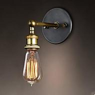 AC 110-130 / AC 220-240 40W E26/E27 Rustik Bronze Feature for LED,Atmosfærelys Væg Lamper Wall Light