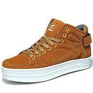 Women's Sneakers Spring / Summer / Fall / Winter Fashion Boots / Comfort Suede Athletic / Casual Flat Black/Yellow/Red