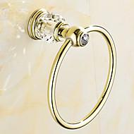מתלה טבעת למגבת / פליז ענתיקה / התקנה על הקיר /16.5*16.5*18.5cm(6.5*6.5*7.3inch) /פלדת אל חלד /מודרני /16.5CM 16.5CM 0.4