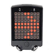 Luzes de Bicicleta LED LED Ciclismo Controle Remoto Recarregável Tamanho Compacto Emergência Bateria de Lítium 50~100 Lumens Bateria USB