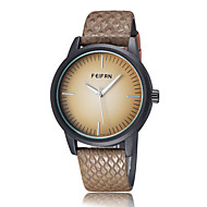 FeiFan Fashion Men's Business Dress Watch Leather Strap Casual Analog Quartz Wrist Watches