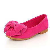 לבנות-נעלי סירה-PU-נוחות-שחור צהוב ורוד אדום-יומיומי-עקב שטוח