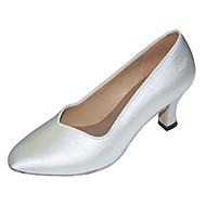 Sapatos de Dança(Branco) -Feminino-Personalizável-Latina / Moderna