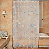 Polyester Thicken Waterproof Shower Curtains Bathroom Curtains