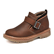 Men's Boots Winter Work & Safety Cowhide Outdoor / Athletic / Casual Flat Heel Others Black / Brown Others