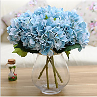 1PCS A Bouquet of Wedding Party Artificial Hydrangea Flower