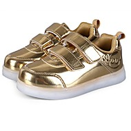 Boy's Sneakers Fall / Winter Comfort / Round Toe / Flats Party & Evening / Athletic / Casual Flat Heel Magic Tape / LED