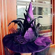 chapéu de bruxa do dia das bruxas para Halloween adereços partido do traje traje acessórios chapéus encenar suppllies cosplay
