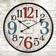Módní a moderní Ostatní Nástěnné hodiny,Kulatý Ostatní 30*30cm*3cm Vevnitř Hodiny
