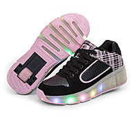 Kid Boy Girl Heelys Roller Shoes / Ultra-light Single Wheel Skating LED Light Shoes / Athletic / Casual LED Shoes