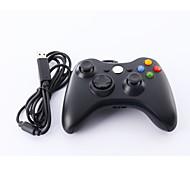 kabelové USB Controller pro PC& Xbox 360 (černá-bílá)