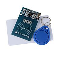 USD $ 5.95 - RC522 RFID Modul + IC Card + S50 Fudan Cards klíčenka pro Arduino Provide Development Code,