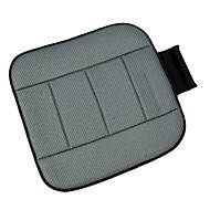 mousse à mémoire autoyouth respirante gris tissu maillé coussins de siège universel ajustement couvrir la plupart des sièges d'auto