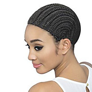 Wig Caps For Making Wigs Hair Net Wig Accessories Comfortable High-grade Black Wig Cap Cornrows Wig Cap For Making Wigs Easier Adjustable Wig Cap 1pc