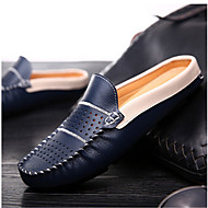 Men's Clogs & Mules Others Leather Casual Black / Blue / White