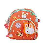 Kinder Kindertaschen Baumwolle Spezielle Werkstoff Ganzjährig Normal Reißverschluss Orange Rosa