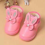 Boty-Koženka-Pohodlné-Dívčí-Růžová / Červená-Běžné