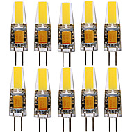 YWXLight® 10PCS G4 4W 1505 COB 300-400LM Warm Warm/Cool White/Natural White LED Bi-pin Lights (AC/DC 12-24V)