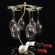 Casiers à Bouteilles Fonte,27*19*44CM Du vin Accessoires