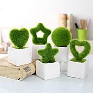 Uso de oficina(Verde) -Tema Jardín-No personalizado 13.5*6.6*6.6cm Cerámica