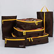 Rejse Rejsetaske / Oppakningsorganisering / Pakkeposer Opbevaring under rejser Net Stof