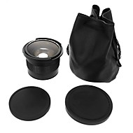 lente 0.35x 58 milímetros de super grande angular fisheye lensmacro para 58 milímetros canon 70d 60d 7d 6d 700d 650D 600D 550D 500D 1100D