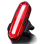 Rechargeable Bicycle Flashlight Tail Light Bike Lights Waterproof Rear Bike Light LED - Cycling Waterproof Small Size Easy CarryingLithium